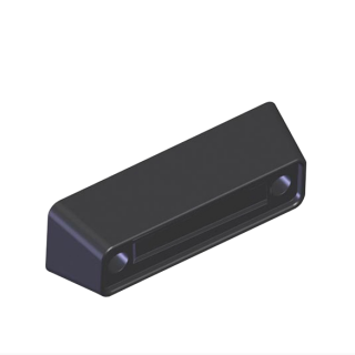 Small rear buffer pad for truck trailers