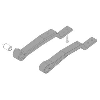 Semi-trailer leaf spring 46010800 package for Ackermann-Fruehauf