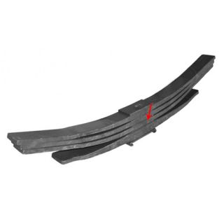 Rear leaf spring 67443003 third leaf for Iveco Eurocargo