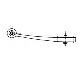 Semi-trailer leaf spring 27038900 package for BPW